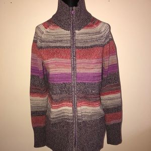 Eddie Bauer ladies petite sweater medium